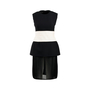 Authentic Pre Owned Giambattista Valli Monochrome Sleeveless Dress (PSS-458-00013) - Thumbnail 0