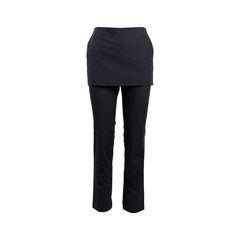 Apron-Front Pants