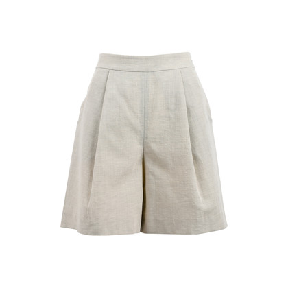 Authentic Second Hand Giorgio Armani Linen Shorts (PSS-458-00043)