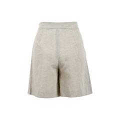 Giorgio armani linen shorts grey 2?1523256998