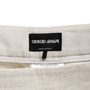 Authentic Second Hand Giorgio Armani Linen Shorts (PSS-458-00043) - Thumbnail 2