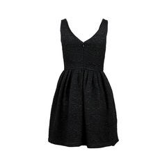 Raoul black jacquard dress 2?1523422277
