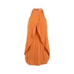 Overlay Halter Dress