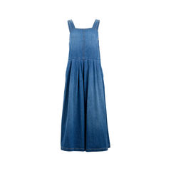 Blue Costello Wide-Leg Denim Jumpsuit
