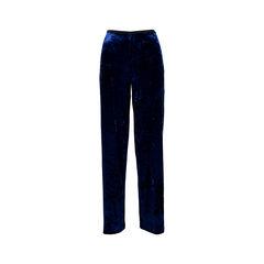 Royal Blue Velvet Pants