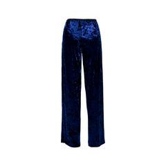 Tibi royal blue velvet pants 2?1523501517