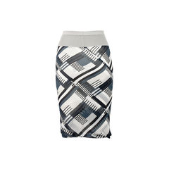 Rick owens printed knee length skirt 2?1523501935