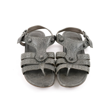 Authentic Second Hand Balenciaga Stud Sandals (PSS-190-00053)