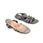Authentic Second Hand Balenciaga Stud Sandals (PSS-190-00053) - Thumbnail 2