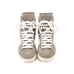 SL10 Suede High Top Sneakers