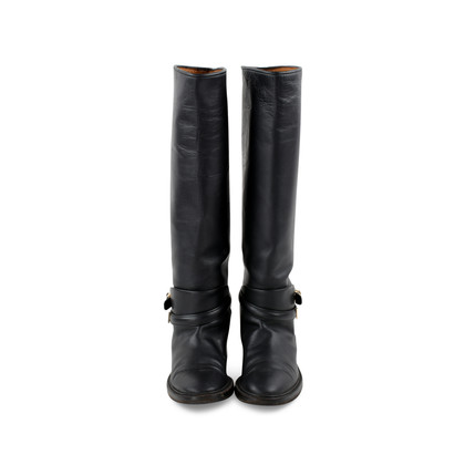 Authentic Second Hand Balenciaga Knee High Boots (PSS-190-00058)