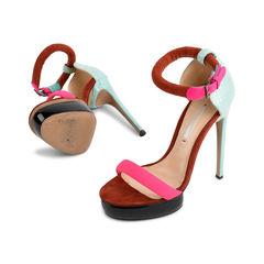 Nicholas kirkwood multicoloured combination neon sandal 2?1523866453