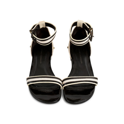 Authentic Second Hand Proenza Schouler Strap Flat Sandals (PSS-080-00280)