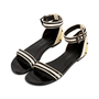 Authentic Second Hand Proenza Schouler Strap Flat Sandals (PSS-080-00280) - Thumbnail 3
