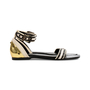 Authentic Second Hand Proenza Schouler Strap Flat Sandals (PSS-080-00280) - Thumbnail 4