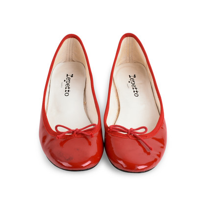 Authentic Second Hand Repetto Patent Ballerina Flats (PSS-080-00281)