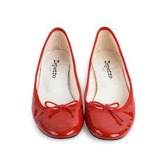 Patent Ballerina Flats