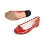 Authentic Second Hand Repetto Patent Ballerina Flats (PSS-080-00281) - Thumbnail 2