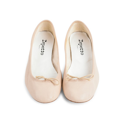 Authentic Second Hand Repetto Baby Pink Ballerina Flats (PSS-080-00282)