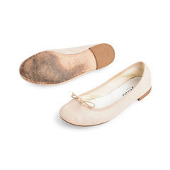 Repetto baby pink ballerina flats 2?1523866685
