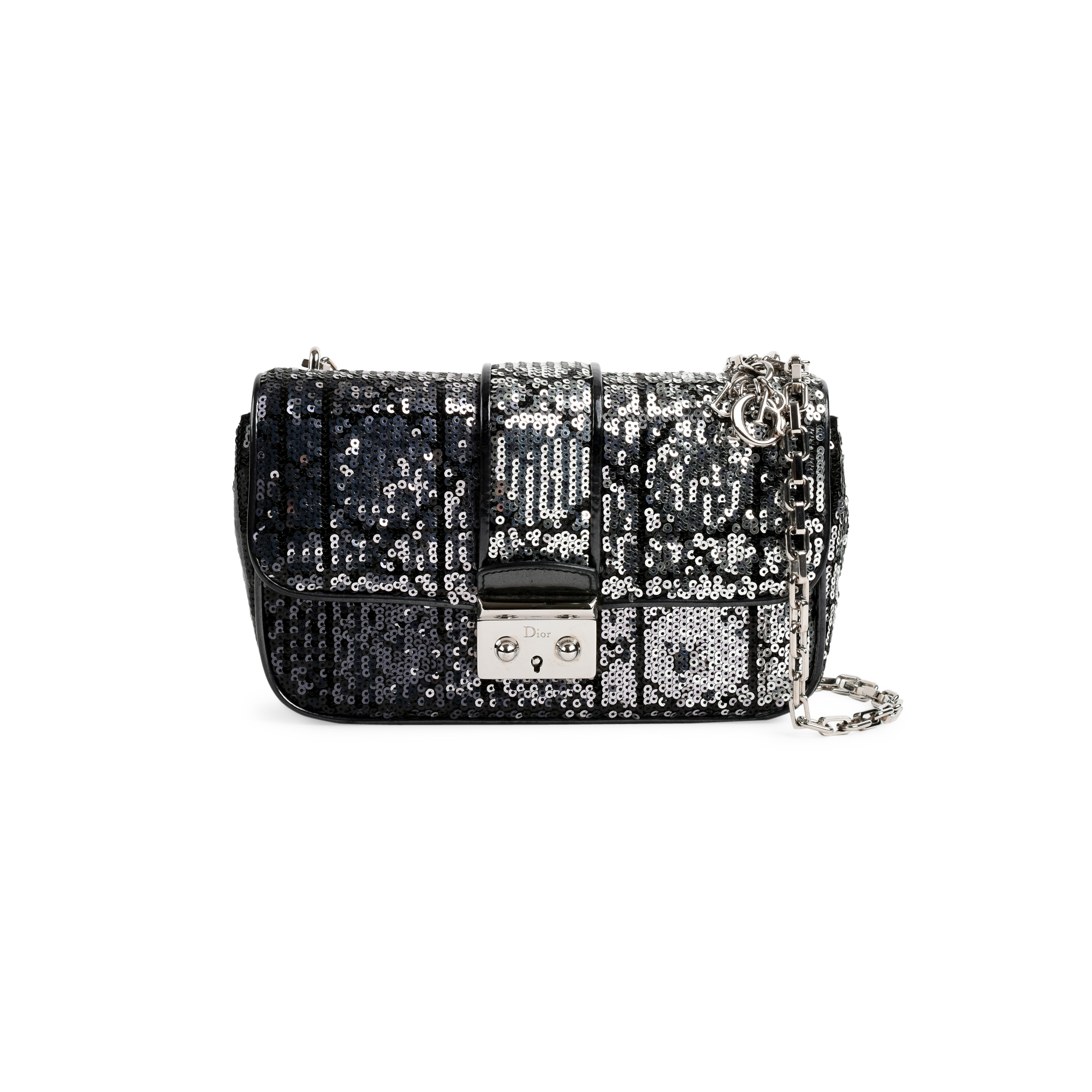 ecd62a6f6db Authentic Second Hand Christian Dior Sequin Cannage Miss Dior Bag  (PSS-491-00006) - THE FIFTH COLLECTION
