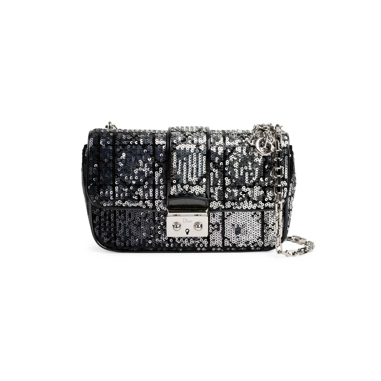 48758ad48c1 Authentic Pre Owned Christian Dior Sequin Cannage Miss Dior Bag  (PSS-491-00006 ...