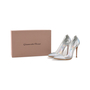 Authentic Second Hand Gianvito Rossi Leather & Plexy Metallic Pumps (PSS-475-00007) - Thumbnail 6