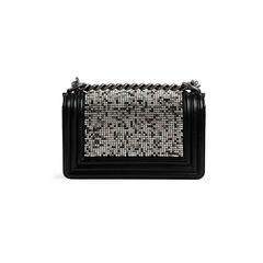 Chanel boy by night crystal bag 2?1523936320