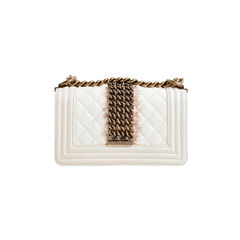 Chanel chained python small boy bag 2?1523936401