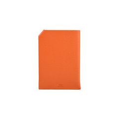 Hermes tarmac passport holder orange 2?1524037116