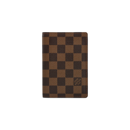 Authentic Second Hand Louis Vuitton Damier Passport Cover (PSS-200-01365)