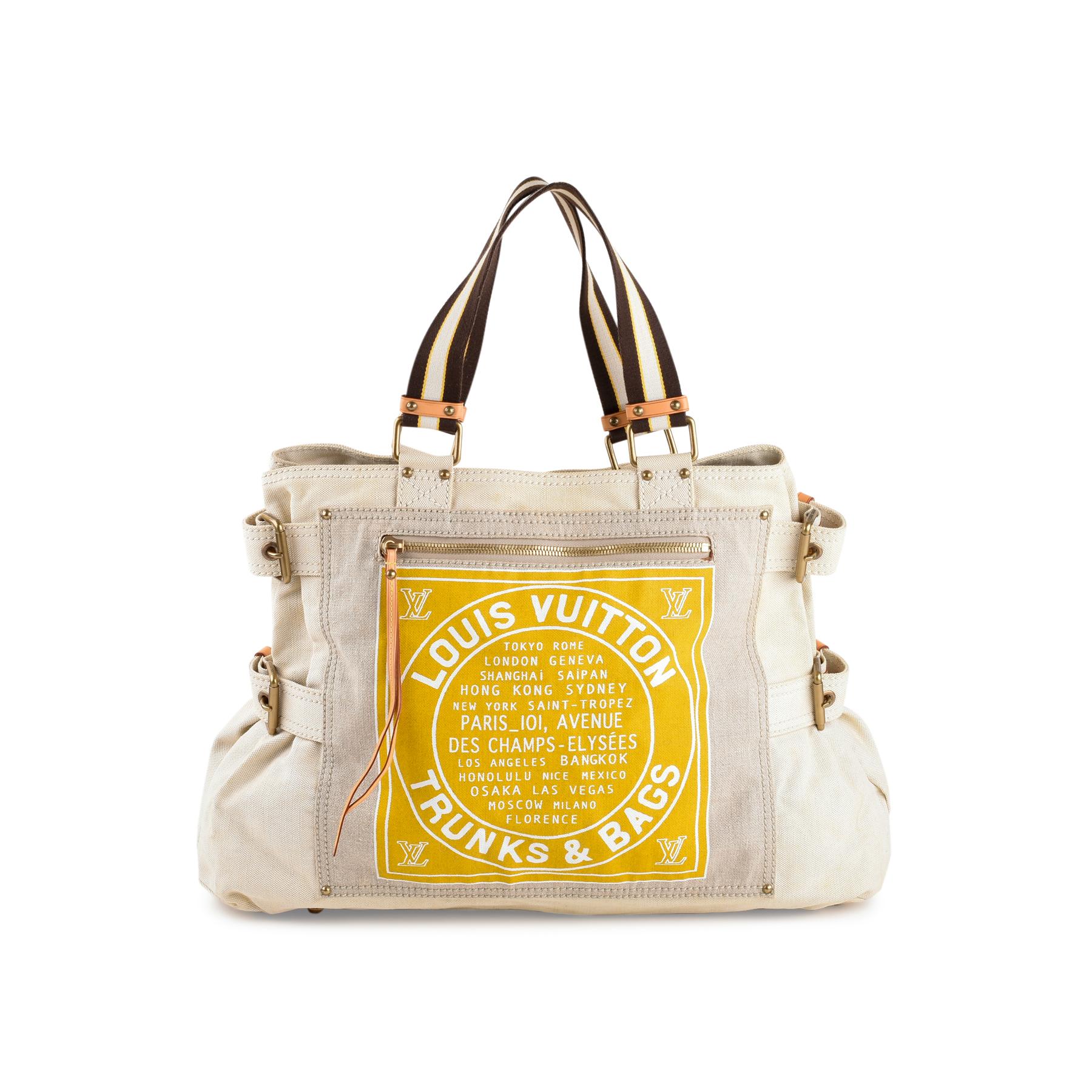 3a31d466bc Authentic Second Hand Louis Vuitton Globe Shopper Cabas GM Bag  (PSS-440-00004)