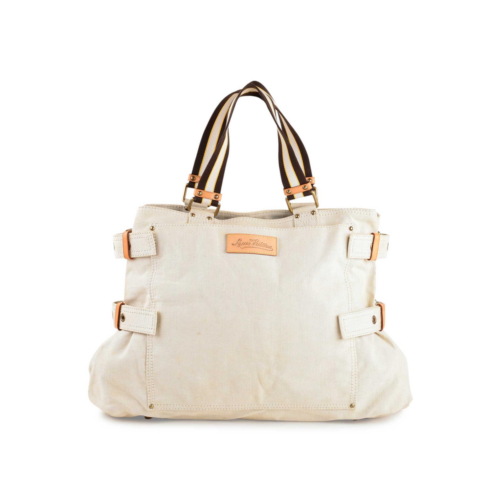 956cea25a123 ... Authentic Second Hand Louis Vuitton Globe Shopper Cabas GM Bag  (PSS-440-00004 ...