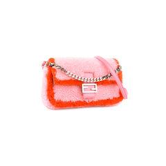 Fendi micro baguette shearling bag 2?1524115245