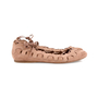 Authentic Second Hand Azzedine Alaïa Laced Up Ballerina Flats (PSS-148-00031) - Thumbnail 4