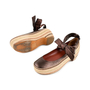 Authentic Second Hand Marc by Marc Jacobs Espadrille Leather Clog Platforms (PSS-433-00001) - Thumbnail 1