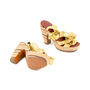 Authentic Second Hand Marc by Marc Jacobs Gold Multi Espadrille Wedges (PSS-433-00004) - Thumbnail 2
