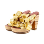 Authentic Second Hand Marc by Marc Jacobs Gold Multi Espadrille Wedges (PSS-433-00004) - Thumbnail 3