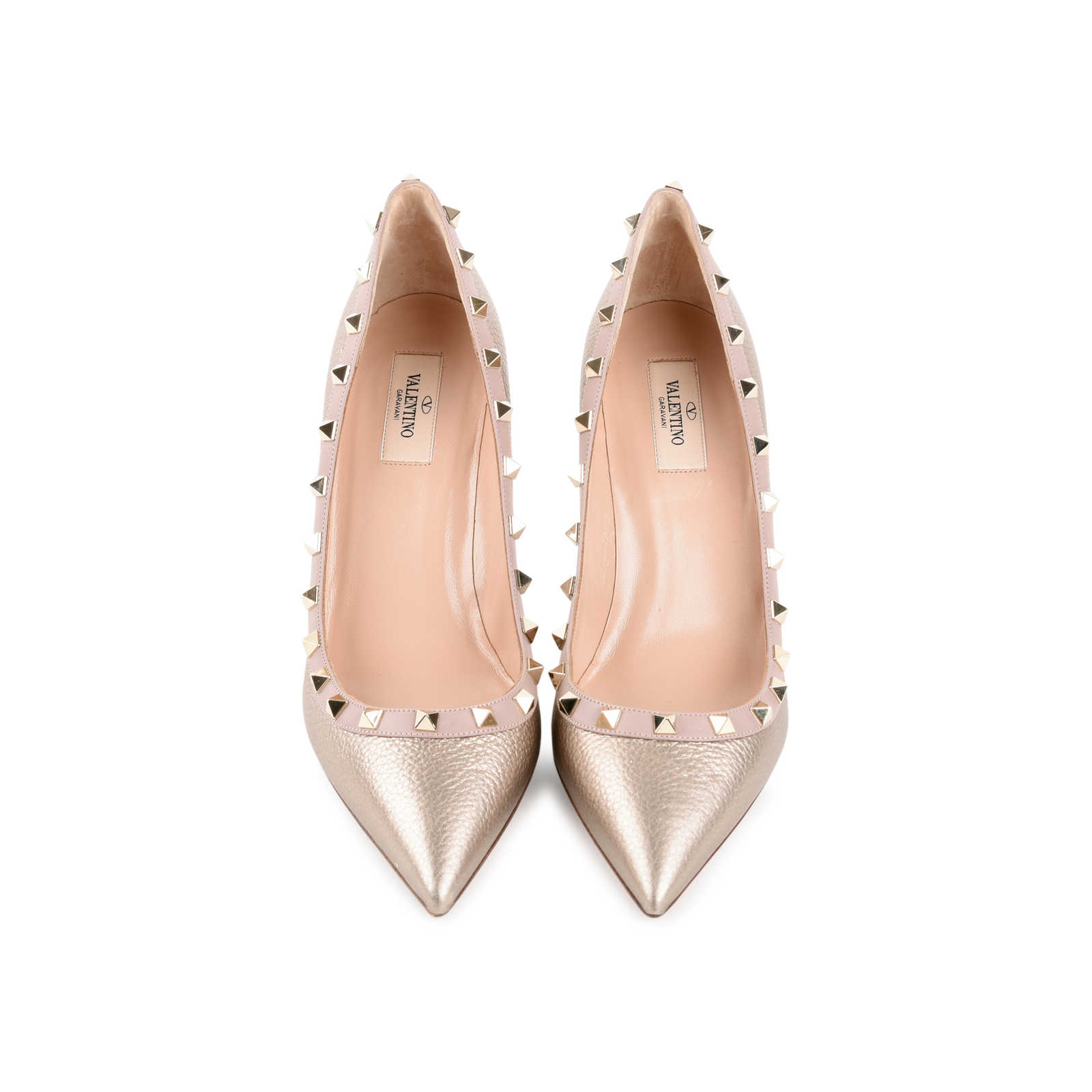 4ffb31e15 Authentic Second Hand Valentino Rockstud Pumps (PSS-470-00001) - Thumbnail  0 ...