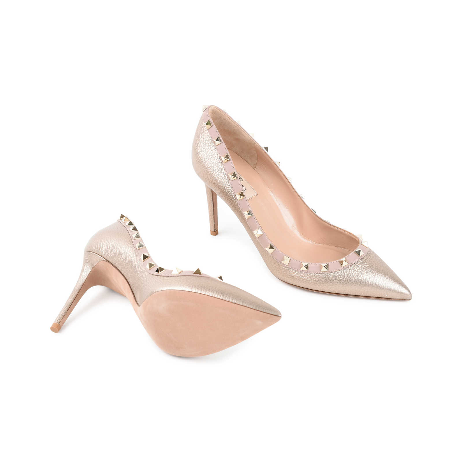 cfc78f601 ... Authentic Second Hand Valentino Rockstud Pumps (PSS-470-00001) -  Thumbnail 1 ...