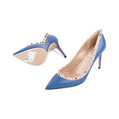 Valentino rockstud pumps blue 2?1524285677