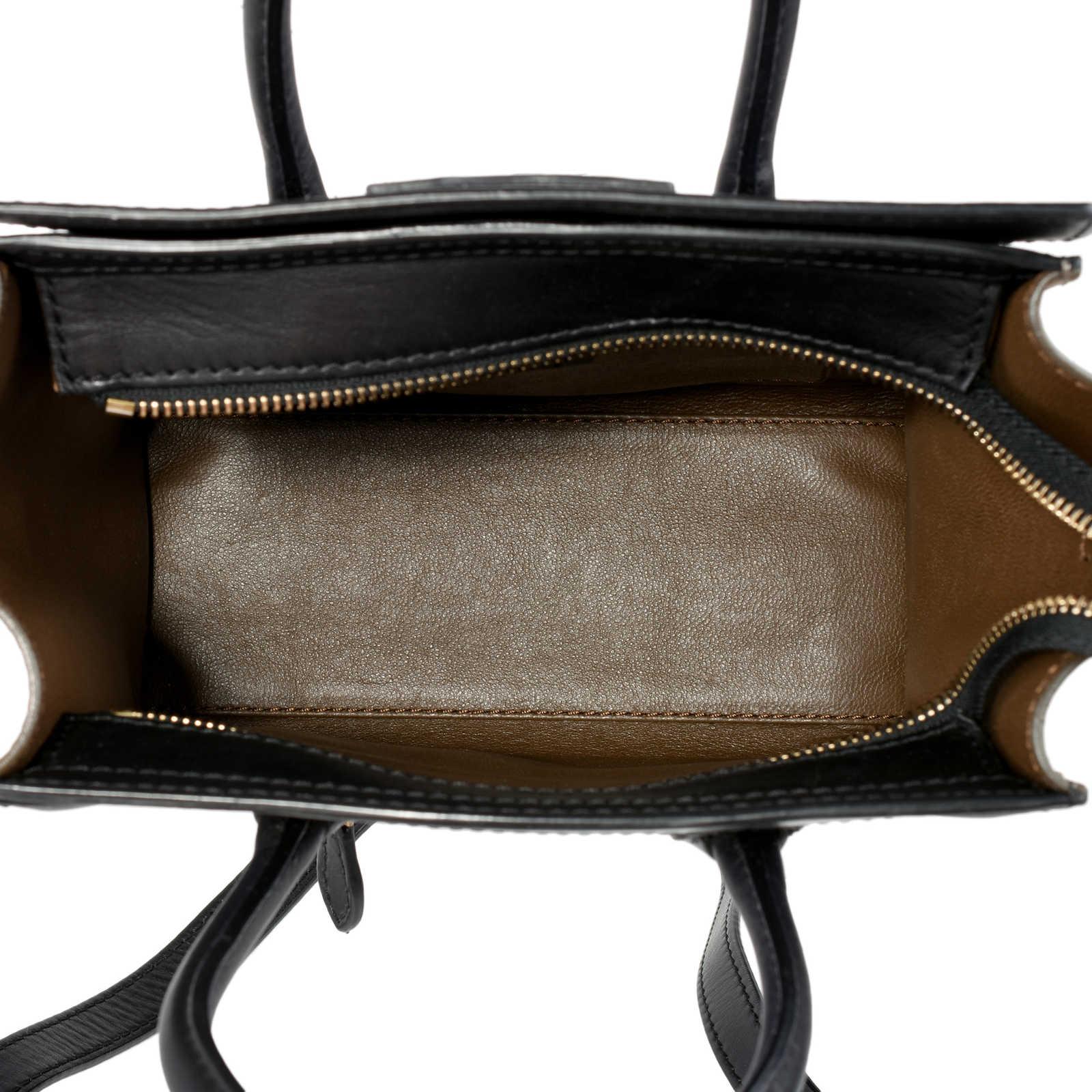 ... Authentic Second Hand Céline Nano Tricolour Luggage Tote  (PSS-470-00006) ... d24b2296d8260