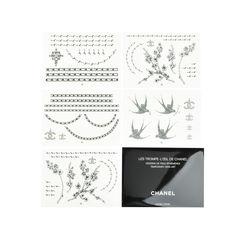 Les Trompe L'oeil de Chanel Temporary Skin Art