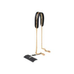 Fendi calfskin chain strap you black 2?1524465004