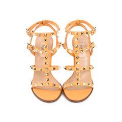 Rockstud Stack Heel Sandals
