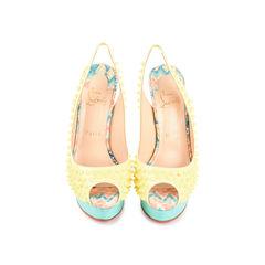 Lady Peep Sling Spike Heels