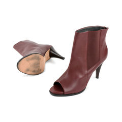 Calvin klein open toe booties 2?1524473272