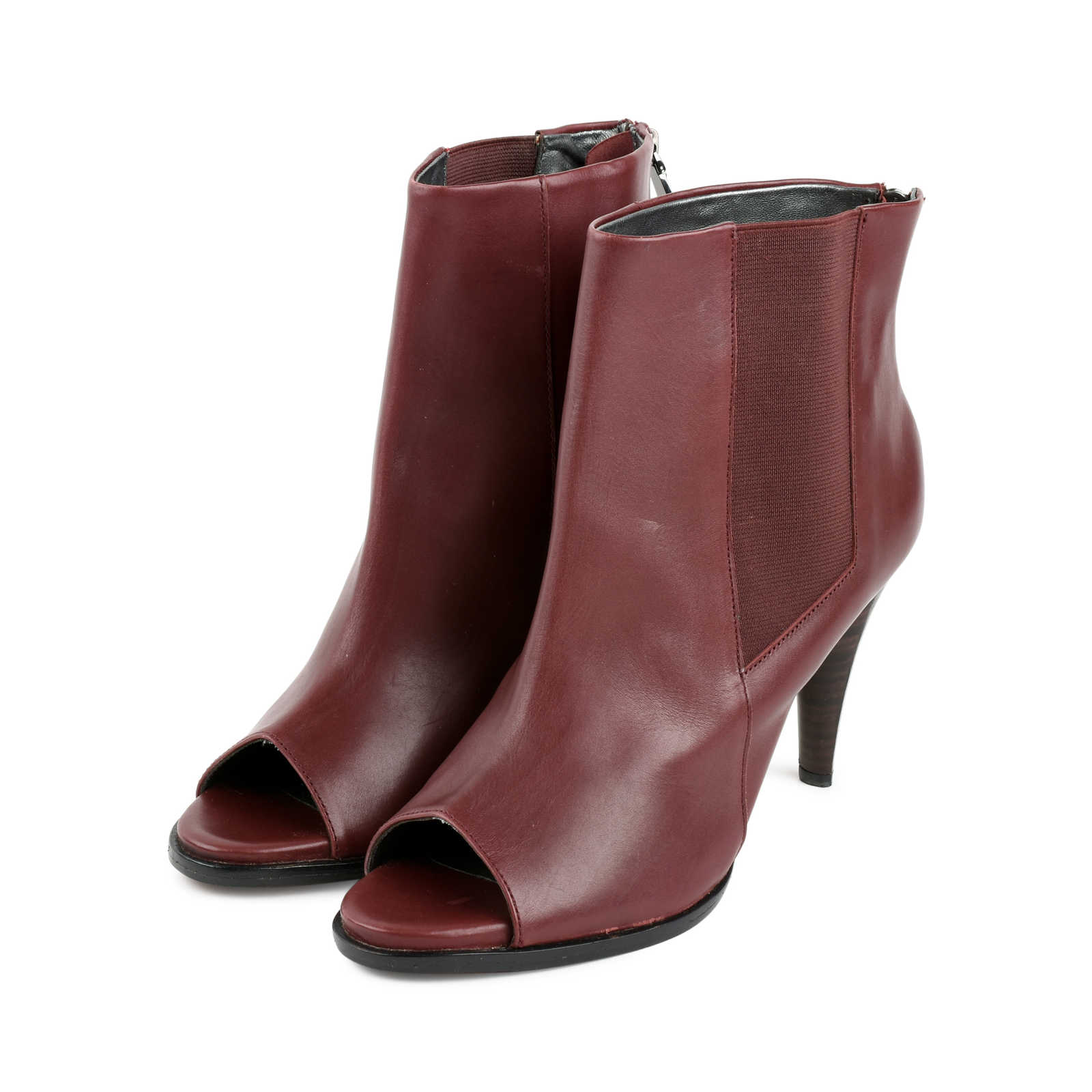 004433394768 ... Authentic Second Hand CK Calvin Klein Open-Toe Booties (PSS-479-00002  ...