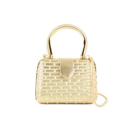 Authentic Pre Owned (unbranded) Pearl Embellished Crossbody Bag (PSS-479-00003)