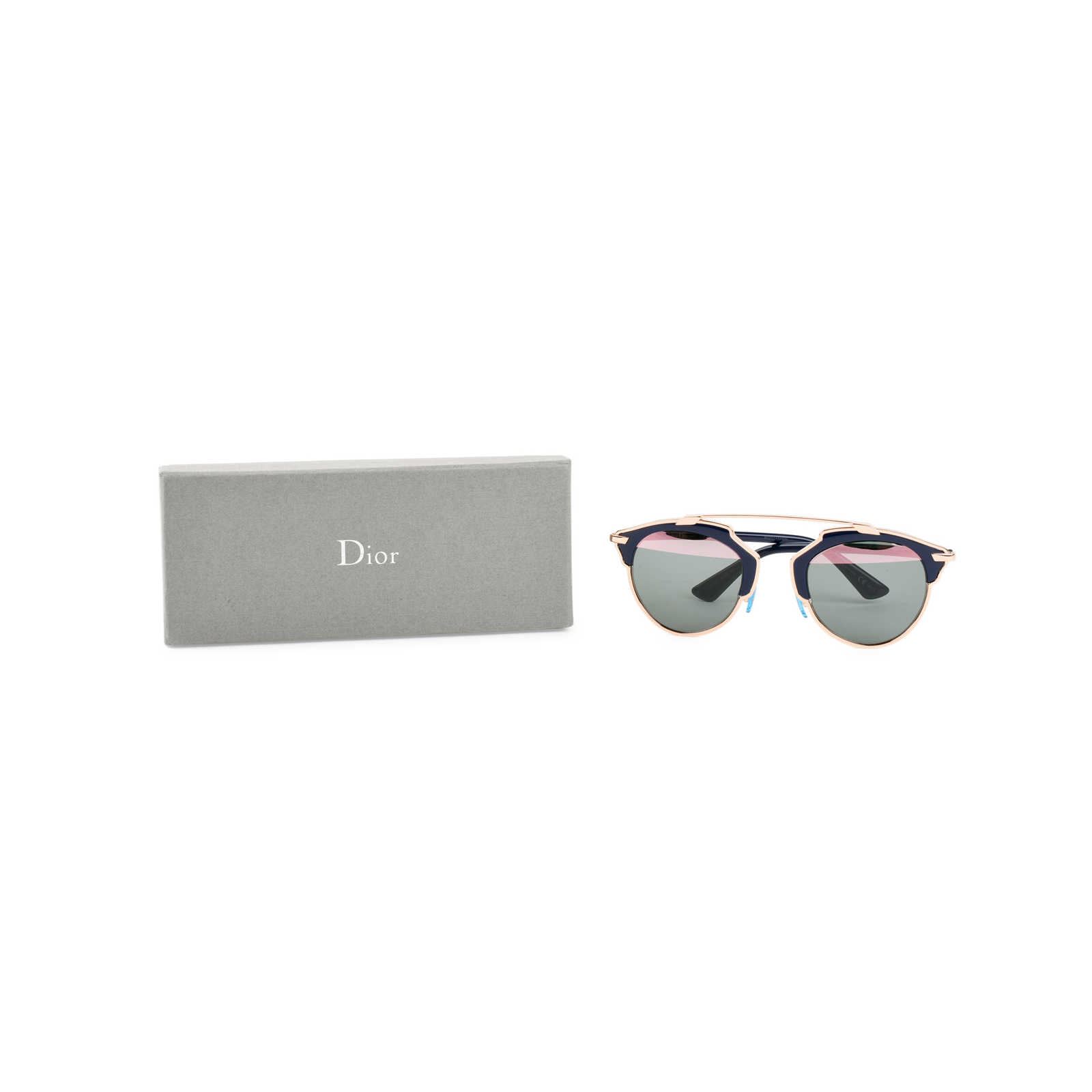 ed428eee0b75 ... Authentic Second Hand Christian Dior So Real Sunglasses (PSS-070-00003)  ...